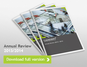 Clearswift Annual Review 2013/14