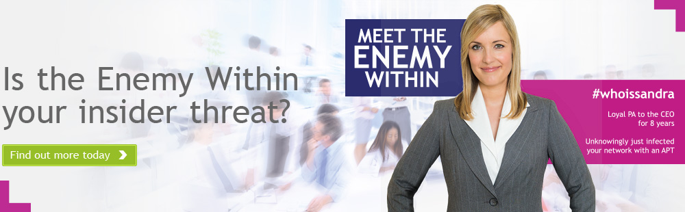 Is the Enemy Within your insider threat?