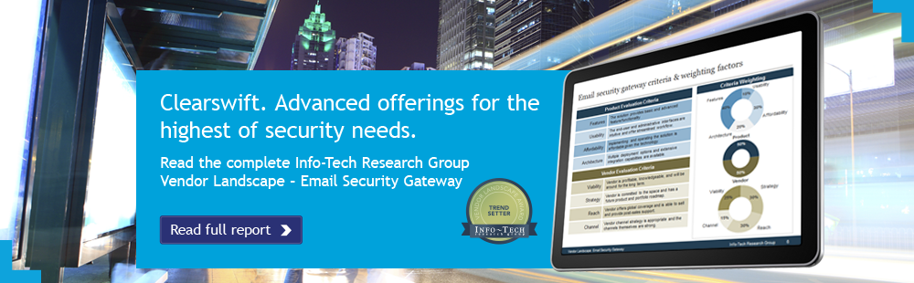 Vendor Landscape: Email Security Gateway Report