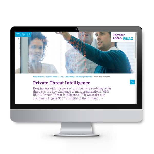 RUAG Private Threat Intelligence